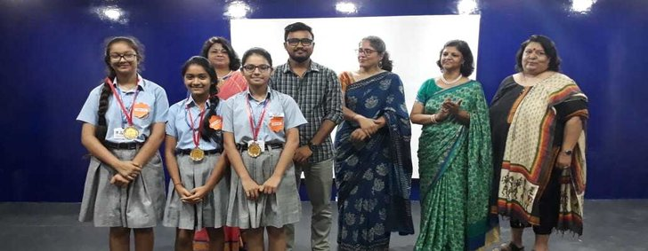 ACHIEVERS IN BOOK JACKET MAKING  INTER-SCHOOL COMPETITION